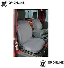 WATERPROOF FRONT GREY SEAT COVERS FOR THE DEFENDER UP TO 2007 3 SEATS BRAND NEW