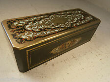 Antique French Boulle Box  ref 166