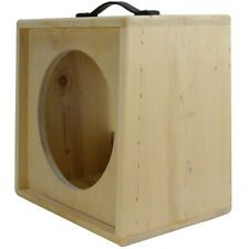 1x12 solid Pine, Raw wood Extension Guitar speaker Empty cabinet G1X12SL RW