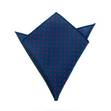 Men's Suit Pocket Towel Hanky Wedding Silk Polyester Pocket Handkerchiefs 12#
