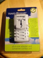 New Conair Travel Smart All In One Adapter And Converter Combo Unit. T523ADN