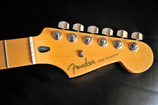 FENDER MIM MAPLE STRAT NECK WITH US TUNERS - mint condition