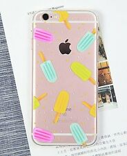 Kolorfish iFunky Thin Back Silicone Case For iPhone 7 Plus----Ice Cream