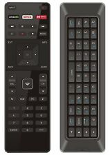 NEW Qwerty Dual Side Remote XRT500 w Backlight for 2015 2016 VIZIO Smart app TV