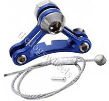 Cantilever Canti Brakes Brake Cable Bridge Hanger Straddle Wire Alloy Blue