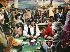 Doug Wildey Poster Print Johnny Behind The Deuce Saloon Poker Cowboys Western