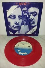 "7"" UFO - ONLY YOU CAN ROCK ME - RED"