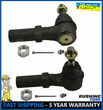 2 Pc Front Left Right Outer Tie Rod End Chevy GMC Sierra Yukon Silverado 1500