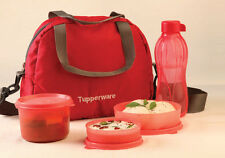 TUPPERWARE SLING A BLING LUNCH BOX SET (STYLISH RANGE IN RED COLOR) - 1 PCS
