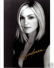 MADONNA AUTOGRAPH SIGNED PP PHOTO POSTER