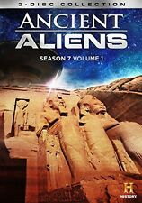 Ancient Aliens: Season 7 - Volume 1 - 3 DISC SET (2015, REGION 1 DVD New)