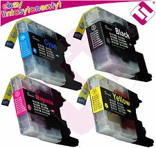 PACK 4 INK LC 1240 FOR PRINTER MFC J825DW CARTRIDGE NONOEMBROTHER