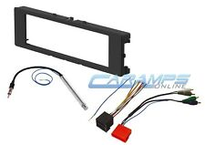 AUDI CAR STEREO RADIO KIT DASH INSTALLATION TRIM BEZEL W BOSE AMP WIRING HARNESS