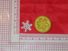 Snowflake Silicone Push Mold A733 For Candy Chocolate Fondant Resin Craft