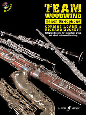 Team Woodwind Tenor Saxophone Instrumental Solo Learn Play FABER Music BOOK & CD