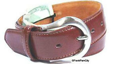 Leather Brown Money Belt / Travel Belt - L