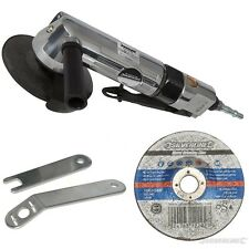 HEAVY DUTY AIR ANGLE GRINDER CUT CUTTING METAL INC. DISC +3 YEARS  WARRANTY
