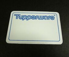 Mini Tupperware Logo Fridge Magnet - RARE Collectible Write your name / designs