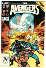 AVENGERS #261 (SECRET WARS II CROSSOVER)  SAL BUSCEMA NM CONDITION/9.0