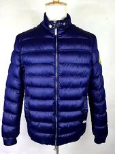 Stefano Ricci Jacket Mens Windbreaker SIZE 50 Blue Amazing GOLD BLACK SPECIAL!!