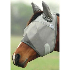 CASHEL CRUSADER FLY MASK for Standard Size HORSE WITH COVERS EARS sun protection