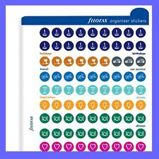 Filofax Multifit Organiser Stickers Pocket and Mini Size Refill Insert 210137