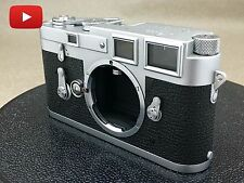【Excellent++!!】 Leica M3 35mm Double Stroke Film Camera Free Shipping!