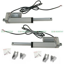 "2x 4"" 100mm 12V Linear Actuator Motor 150Kg/330 Lbs for  Industrial Electric"
