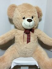 "Giant Jumbo 40"" Teddy Bear Stuffed Plush Best Made Toys Super Soft Cuddly Tan"