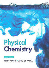 Physical Chemistry, 9th Edition by Peter Atkins