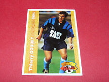 THIERRY GOUDET LE HAVRE AC HAC DESCHASEAUX FRANCE FOOTBALL CARD PANINI 1994
