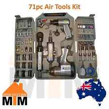 71PC Air Impact Wrench Tool Set Kit Ratchet Rattle Gun Driver Pneumatic Quality