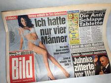 Bildzeitung vom 13.10.1999 Sex Beichte Verona Feldbusch 18. 19. Geburtstag