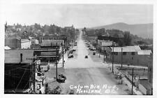 Photo. ca 1935. Rossland, BC Canada. Columbia Avenue
