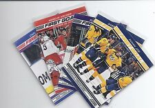 12-13 2012-13 SCORE FIRST GOAL INSERT -  FINISH YOUR SET - LOW SHIPPING RATE