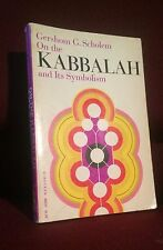 On the Kabbalah and Its Symbolism Esoteric Kabbalistic Mysticism Book