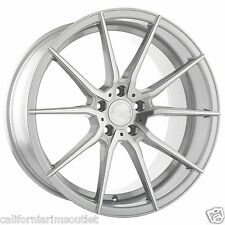 "19"" AG M652 ROTARY FORGED SATIN SILVER WHEELS RIMS 19X8.5 FITS AUDI B7 A4 S4"