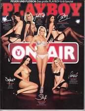 Playboy 2013 Nr. 6  deutsche Radio-Moderatorinnen im Evakostüm