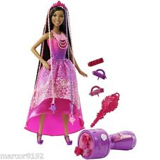 Barbie A.A Nikki Doll Endless Hair Kingdom Sanp & Style Princess & Accessories