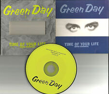 GREEN DAY Time of Your Life DIE CUT SLEEVE 2UNRELEASE Europe CD Single USA Seler