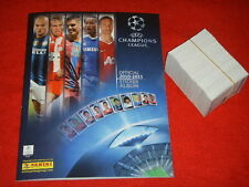 ALBUM FIGURINE PANINI CHAMPIONS LEAGUE 2010 2011 11 VUOTO + SET COMPLETO MINT