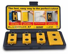 Calculated Industries 8105 Blind Mark XT Magnetic Drywall Cutout Tool Kit, New