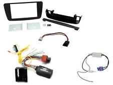 MASCHERINA KIT COMPLETO AUTORADIO MONITOR GPS 2 DIN MERCEDES CLASSE A 2014 W176