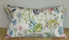 Handmade Voyage Maison MORNING CHORUS Mayberry floral cushion bird COVER 20 x 12