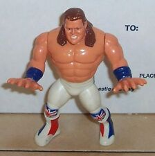 1992 Hasbro WWF Series 4 The British Bulldog Action Figure Rare VHTF WWE WCW AWA
