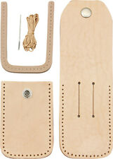 CRAFT KIT TO MAKE A LEATHER SHEATH FOR UP TO 5 INCH CLOSED FOLDING KNIFE SH1011
