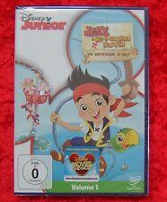 Disney Junior Jake l'Isola che non c'è Pirati Volume 1, DVD, Nuovo