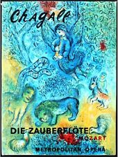 CHAGALL AT THE METROPOLITAN OPERA ~ PROFUSELY ILLUSTRATED ~ GIANT HC MOZART MET