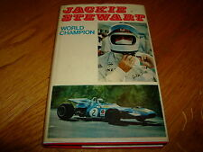 JACKIE STEWART-WORLD CHAMPION-BIOGRAPHY-SIGNED-1ST-HB-1970-VG-HB-RARE