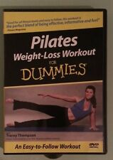 PILATES WEIGHT LOSS WORKOUT FOR DUMMIES    DVD includes insert